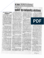 Peoples Journal, Jan. 16, 2020, Romualdez appeals Show malasakit to calamity victims.pdf