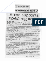 Peoples Journal, Jan. 16, 2020, Solon supports POGO regulation.pdf