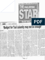 Phi;ippine Star, Jan. 16, 2020, Budget for Taal calamity may not be enough.pdf