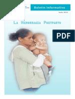 Boletin Informativo sobre hemorragias maternas