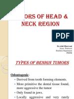 Tumors of Head and Neck Region