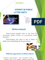 Disinvestment In Public Sector - 2