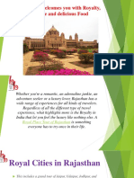 Rajasthan Welcomes You With Royalty, Culture And