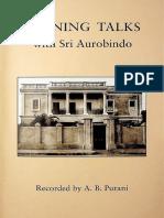 AB-Purani-Evening-Talks-with-Sri-Aurobindo