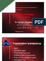 Dynamics of Disease Transmission