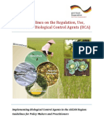 ASEAN Guidelines on the Regulation, Use, and Trade of Biological Control Agents (BCA)