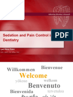 Seadtion and Pain Control in Dentistry