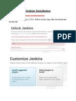 Jenkins Installation