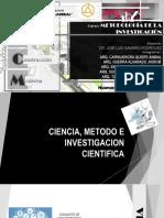 CIENCIA, METODO CIENTIFICO Y EPISTEMOLOGIA [Autoguardado]