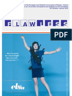 Flawless n° 2 - Magazine of ELSA Nantes (France)