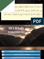 belief in aakhirah shortest version