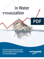 Trends in Water Privatization