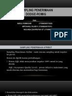 DODGE-ROMIG sampling