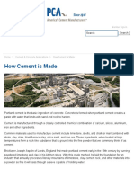 How Cement Is Made