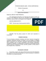AOI - General Consultancy - sample