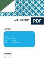 scribd APPENDICITIS.pptx