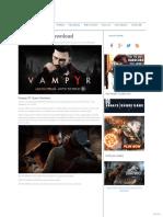Vampyr Free Download « IGGGAMES