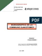 Monographie de DJAKOTOMEY