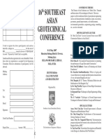 16th Southeast Asian Geotechnical Conference