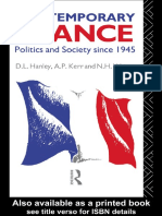 D. L. Hanley - Contemporary France_ Politics and Society since 1945 (1984).pdf