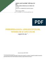 Psihopedagogia adolescentilor tinerilor si adultilor_suport de curs