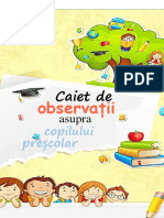 caiet de observatii 2019- 2020