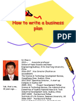 how to write a business plan2.ppt