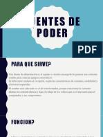 FUENTES DE PODER