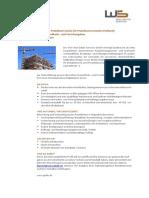 Projektmanagement Gesundheits-und Forschungsbau