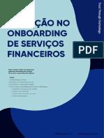 Inovação no onboarding de serviços financeiros