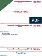 BPO2-Module 9 PROJECT PLAN