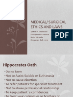 Medical Ethics Lecture 2-Prof. Tjakra