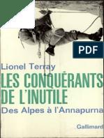 Les Conquerants de l inutile - Lionel Terray