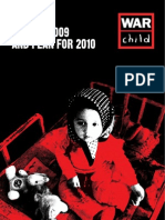 War Child UK Annual Report 2009 and plans for 2010