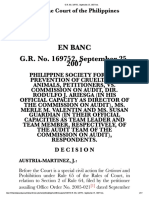 PHILIPPINE SOCIETY FOR THE PREVENTION OF CRUELTY TO ANIMALS, VS. COMMISSION ON AUDITG.R. No. 169752, September 25, 2007.htm