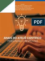 Anais do Ateliê Científico - perguntas e respostas