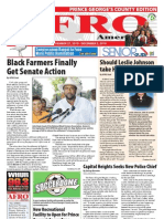 Prince George's County Afro-American Newspaper, November 27, 2010