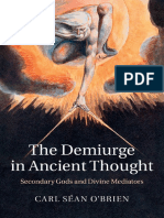 The Demiurge in Ancient Thought Secondary Gods and Divine Mediators-Cambridge University Press 2015