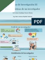 Características de un investigador