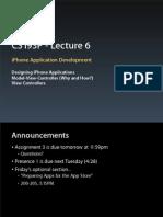 Lecture 6 Slides (April 20, 2009)
