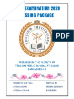 SSLC 2020 PASSING PACKAGE