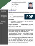 Muhammad Mudassir S CV