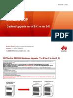 Telkomsel Standard SOP Cabinet Upgrade v1.0