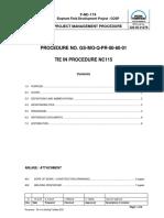 Procedure - Tie-In to Existing Facilities