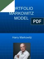 Portfolio Markowitz Model
