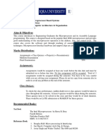 Microprocessor Course Outline