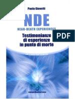 nde - testimonianze di esperienze in punto di morte