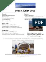 Salvavidas Junior 2011 Folleto