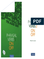 MUESTRA VAUGHAN - Phrasal Verbs 3  ON - OFF