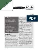 AC 26N datasheet Rev1.2